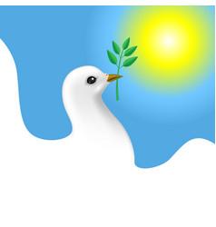 Dove card vector