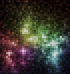 Grunge Mosaic Banner vector image vector image