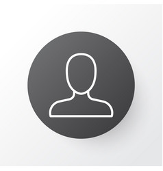 member icon symbol premium quality isolated web vector image vector image