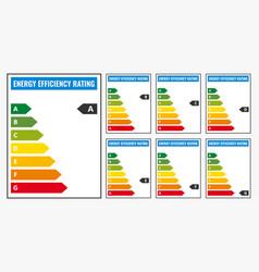 Energy efficiency rating classification vector