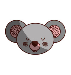 animal koala cartoon vector image