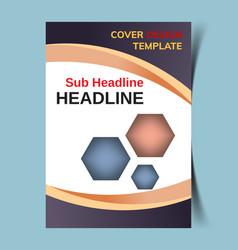 Cover design template2 vector