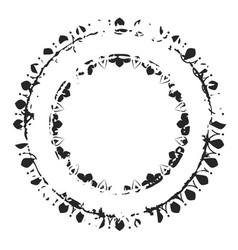decorative grunge stamp v3 vector image