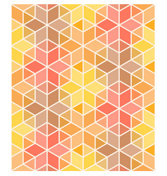 hexagon and triangle colorful geometric seamless vector image