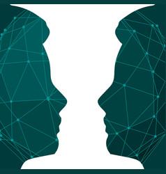 Human relationships concept vector