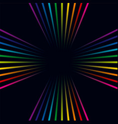 multicolored lines colorful background vector image