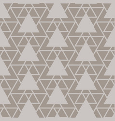 Triangle lattice seamless pattern vector