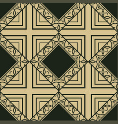 vinttage seamless pattern vector image