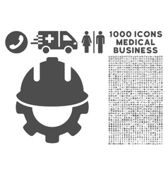 Development Icon with 1000 Medical Business vector image