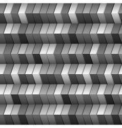 Monochromatic geometric structure vector image vector image