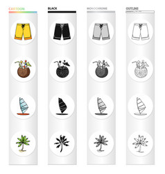 nature leisure sport and other web icon in vector image