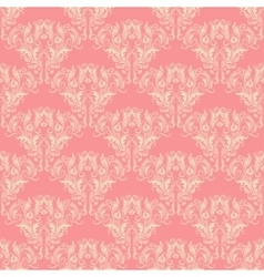 seamless background with lace ornament vector image vector image