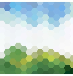 Background colored for your design vector image vector image