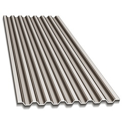 corrugated roofing sheet vector image