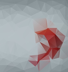 Abtract geometrical background vector