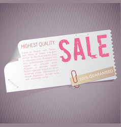 Advertisement and promotion template vector