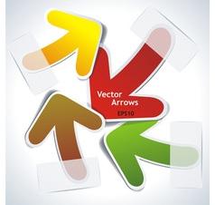 Arrows chaos vector