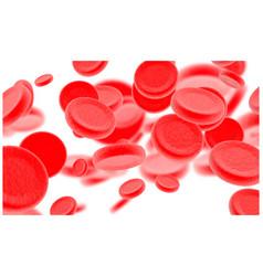 blood cells design element for poster card banner vector image
