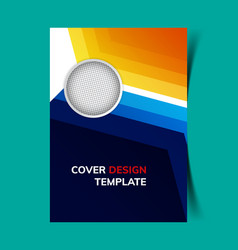 Cover design template3 vector