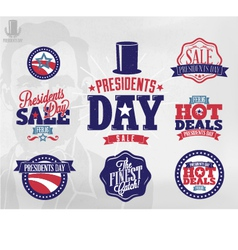 Happy presidents day sale sign vector image vector image