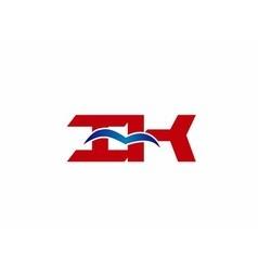 Ik company logo vector