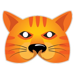 Mask Cat vector image