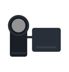 Mobile videocamera icon image vector
