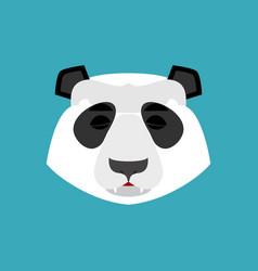 Panda sleeping emoji chinese bear asleep emotion vector