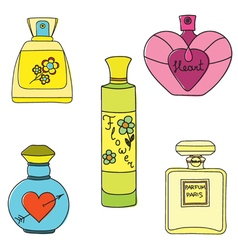 Parfum paint vector