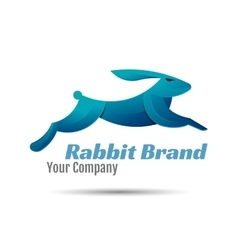 Rabbit Logo Template Design Creative vector