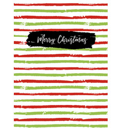 Merry christmas greeting card sketchbook cover vector