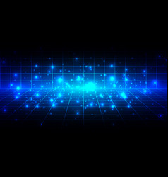 abstract technolgy background design vector image