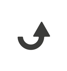 arrow icon design template eps 10 vector image