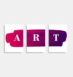 Art-banner-pink vector