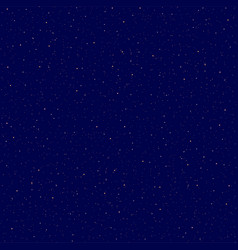 detailed seamless realistic night starry blue sky vector image
