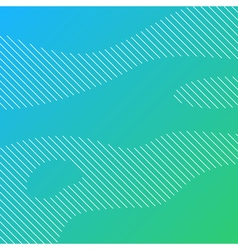 Linear background with green gradient vector