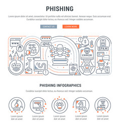 Linear phishing vector
