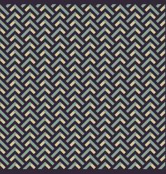 retro zig zag seamless background vector image