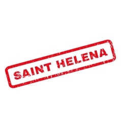 Saint Helena Rubber Stamp vector image