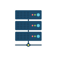 Server related icon vector