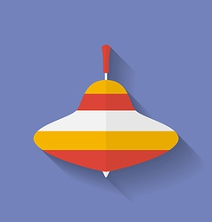 Icon of whirligig Flat style vector image