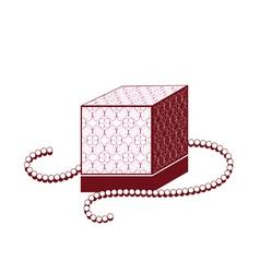 Perfume box vector image vector image