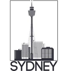 Sydney city banner vector image