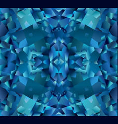 blue abstract background with texture of topaz vector image