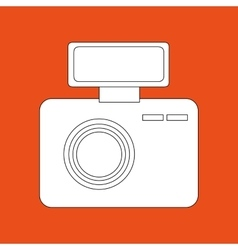 digital camera design vector image