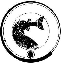 Fishing vector