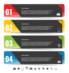 infographic colored vector image vector image