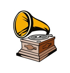 Phonograph vector