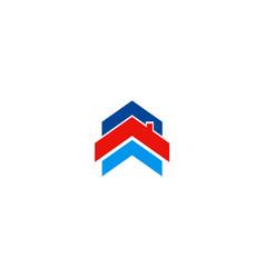 rohouse shape company logo vector image