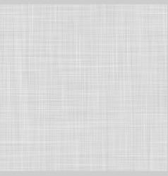 Seamless linen pattern texture light gray knit vector